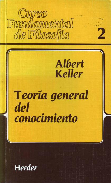 TEORIA GENERAL CONOCIMIENTO