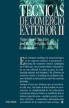 TÉCNICAS DE COMERCIO EXTERIOR II