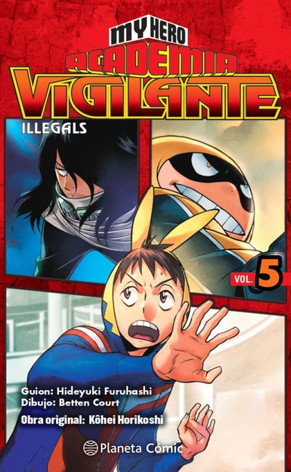 MY HERO ACADEMIA VIGILANTE ILLEGALS Nº 05.