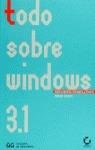 TODO SOBRE WINDOWS 3.1