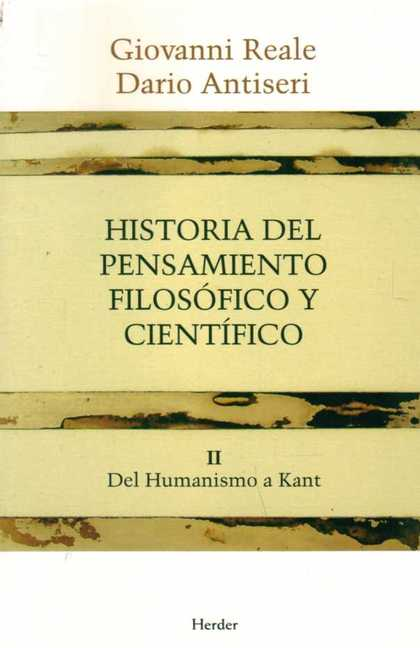 HISTORIA DEL PENSAMIENTO FILOSOFICO Y CIENTIFICO V.2
