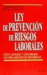 LEY PREVENCION RIESGOS LABORALES