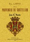 EL LIBRO DE LA PROVINCIA DE CASTELLÓN