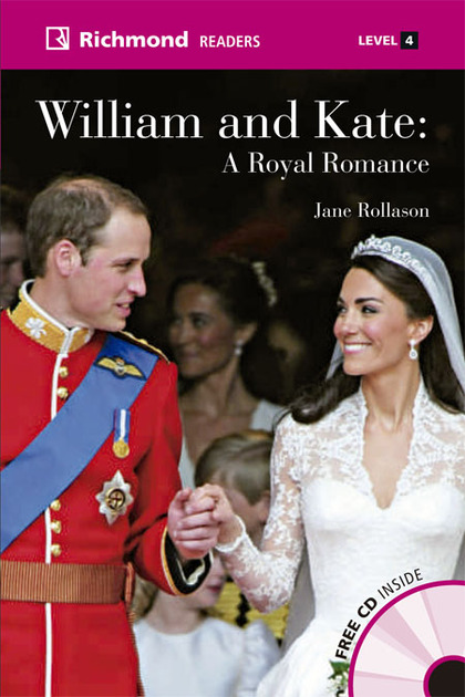 GLOBAL RICHMOND READERS 4 WILLIAM AND KATE+CD.