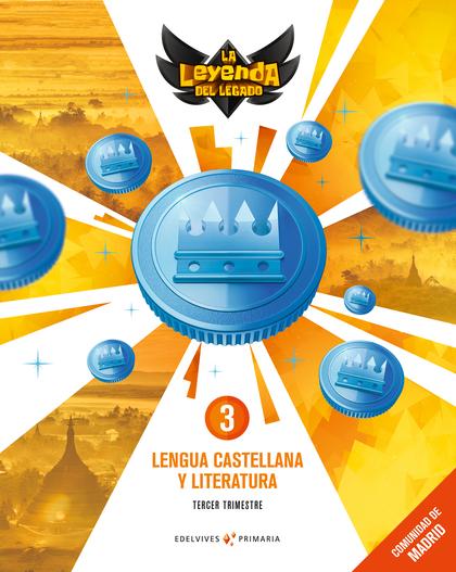 LENGUA 3º PRIMARIA TRIMESTRAL 2018 (LEYENDA LEGADO).