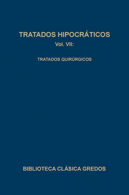 TRATADOS HIPOCRATICOS VII (N.175)