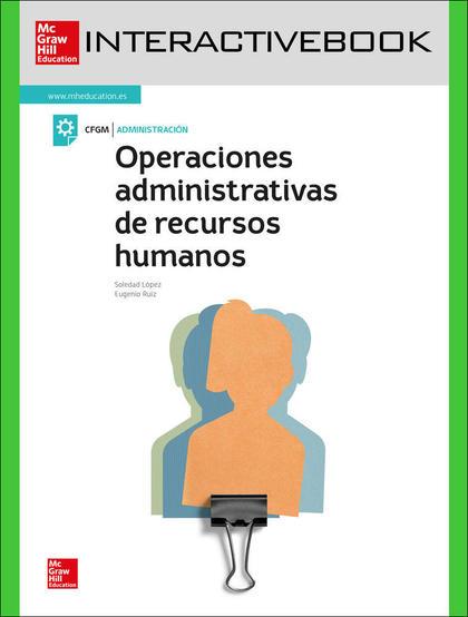 OPERACIONES ADMINISTRATIVAS DE RECURSOS HUMANOS. LIBRO DIGITAL