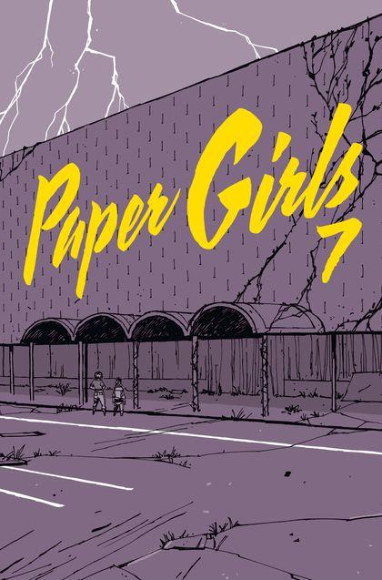 PAPER GIRLS Nº 07.
