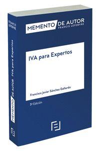 IVA PARA EXPERTOS 3ª ED