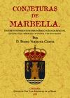 CONJETURAS DE MARBELLA