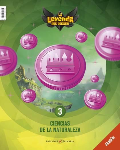PROYECTO: LA LEYENDA DEL LEGADO. CIENCIAS DE LA NATURALEZA 3. ARAGÓN : ADENDA.