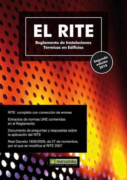 EL RITE. REGLAMENTO DE INSTALACIONES TÉRMICAS EN EDIFICIOS