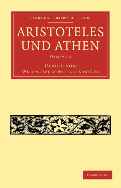 ARISTOTELES UND ATHEN - VOLUME 2