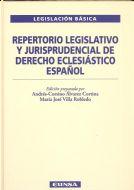 REPERTORIO LEGISLATIVO Y JURISPRUDENCIAL DEL DERECHO ECLESIÁSTICO ESPAÑOL