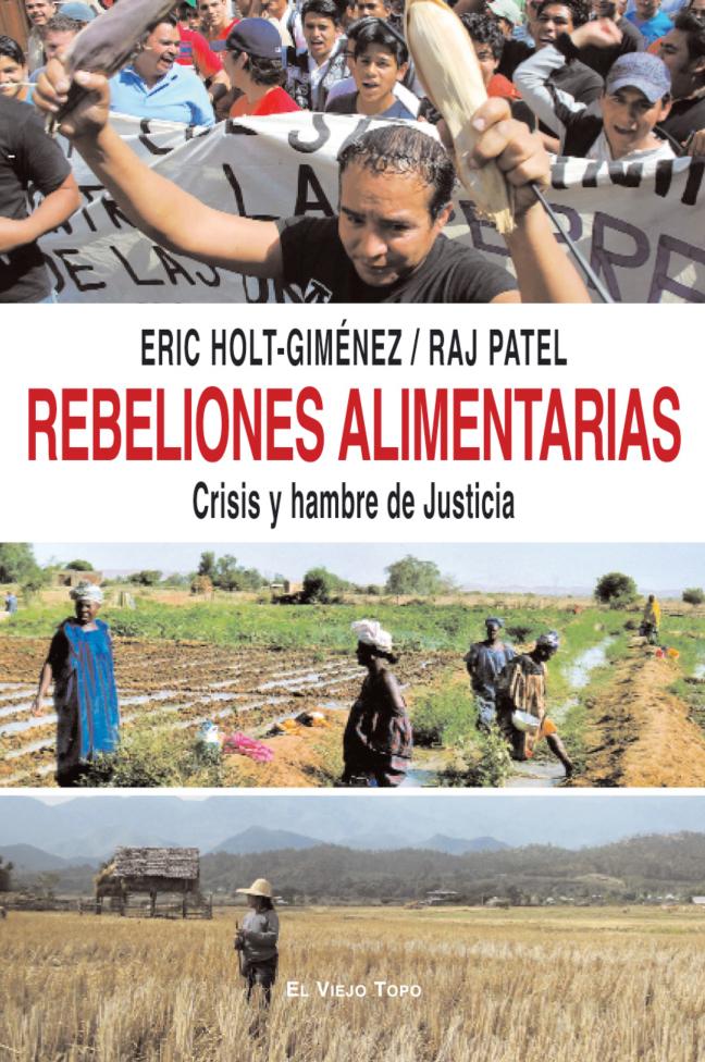 REBELIONES ALIMENTARIAS : CRISIS Y HAMBRE DE JUSTICIA
