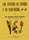 LAS ESTEPAS DE ESPAÑA Y SU VEGETACIÓN