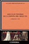Don Juan Tenorio en la España del siglo XX
