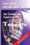 AUXILIARES ADMINISTRATIVOS CONSORCIO SANITARIO TENERIFE. TEST