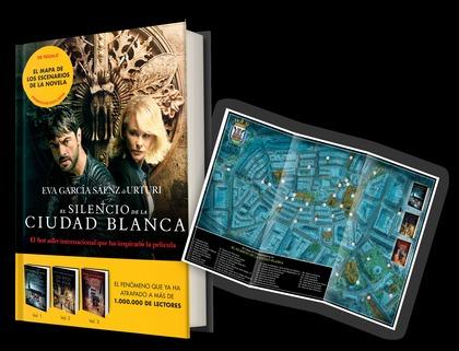 PACK EL SILENCIO DE LA CIUDAD BLANCA + MAPA DE ESCENARIOS.