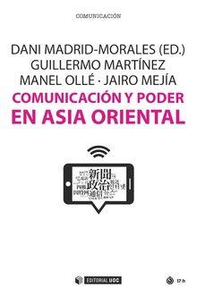 COMUNICACION Y PODER EN ASIA ORIENTAL