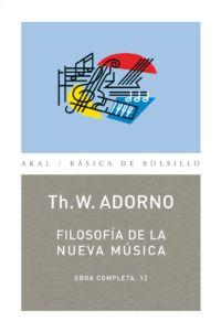 FILOSOFIA DE LA NUEVA MUSICA OBRA COMPLETA 12