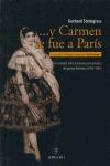 Y CARMEN SE FUE A PARÍS: UN ESTUDIO DE LA CONSTITUCIÓN ARTÍSTICA DEL GÉNERO FLAMENCO 1833-1865
