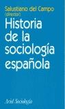 HISTORIA DE LA SOCIOLOGÍA ESPAÑOLA