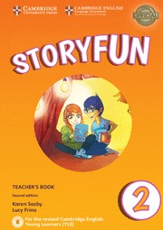 STORYFUN FOR STARTERS LEVEL 2 TEACHER´S BOOK WITH AUDIO 2ND EDITION