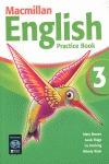 MACMILLAN ENGLISH 3 PRACTICE.