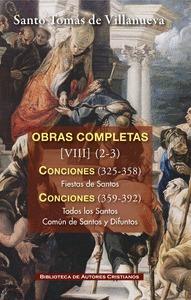 OBRAS COMPLETAS DE SANTO TOMÁS DE VILLANUEVA. VIII-2/3:  CONCIONES 326-392. FIES.