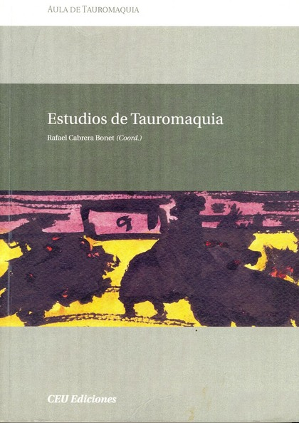 ESTUDIOS DE TAUROMAQUIA