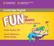 FUN FOR MOVERS (4 EDITION) CLASS AUDIO CDS