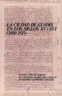 LA CIUDAD DE GUADIX EN LOS SIGLOS XV Y XVI (1490-1515)