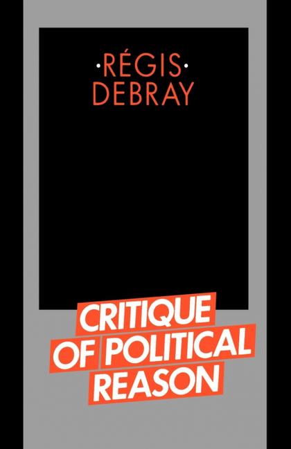 CRITIQUE OF POLITICAL REASON