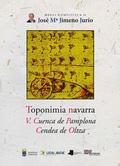 TOPONIMIA NAVARRA. V. CUENCA DE PAMPLONA. CENDEA DE OLTZA.