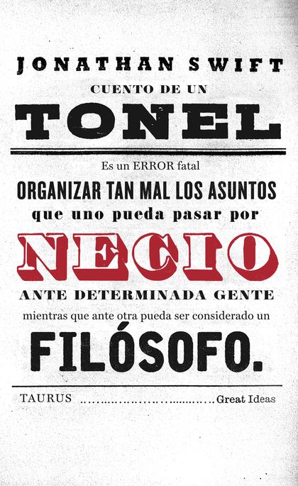 CUENTO DE UN TONEL (SERIE GREAT IDEAS 36).