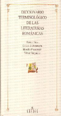 DICCIONARIO TERMINOLOGICO LITERATURAS ROMANICAS
