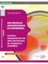 DIPLOMADO-A UNIVERSITARIO-A EN ENFERMERÍA, CENTROS HOSPITALARIOS DE ALTA RESOLUCIÓN DE ANDALUCÍ