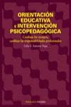 ORIENTACIÓN EDUCATIVA E INTERVENCIÓN PSICOPEDAGÓGICA: CAMBIAN LOS TIEM