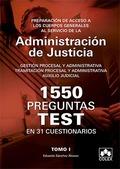 1550 PREGUNTAS TEST 31 CUESTIONARIOS OPOSITORES CUERPOS GEN
