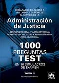1000 PREGUNTAS TEST 10 SIMULACROS OPOSITORES CUERPOS GENERA