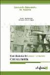 DIDÁCTICA DE LENGUA Y LITERATURA PARA PROFESORES DE EDUCACIÓN SECUNDAIA