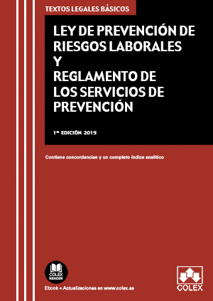 LEY DE PREVENCIÓN DE RIESGOS LABORALES Y REGLAMENTO DE LOS SERVICIOS DE PREVENCI. CONTIENE CONC