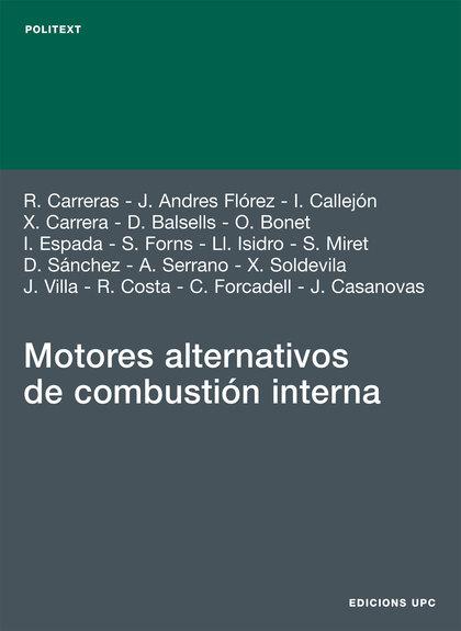 MOTORES ALTERNATIVOS DE COMBUSTIÓN INTERNA