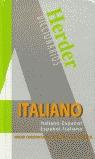 DICCIONARIO ITALIANO-ESPAÑOL, ESPAÑOL-ITALIANO