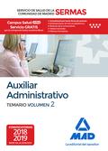 AUXILIAR ADMINISTRATIVO DEL SERVICIO DE SALUD DE LA COMUNIDAD DE MADRID. TEMARIO