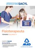 FISIOTERAPEUTA DEL SERVICIO DE SALUD DE CASTILLA Y LEÓN (SACYL).  TEMARIO VOLUME
