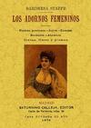 LOS ADORNOS FEMENINOS. TOMO1.