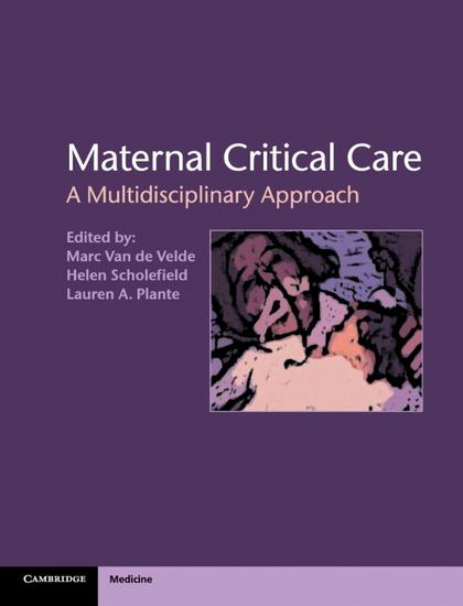 MATERNAL CRITICAL CARE