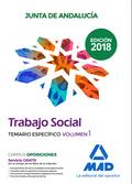 TRABAJADOR SOCIAL DE LA JUNTA DE ANDALUCÍA. TEMARIO ESPECÍFICO VOLUMEN 1